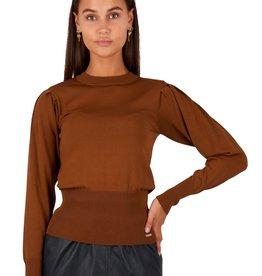 Glamorous Linsey knit Glamorous 8530 brown - rust