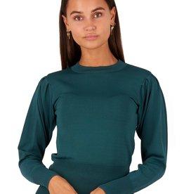 Glamorous Linsey knit Glamorous 8530 green - petrol