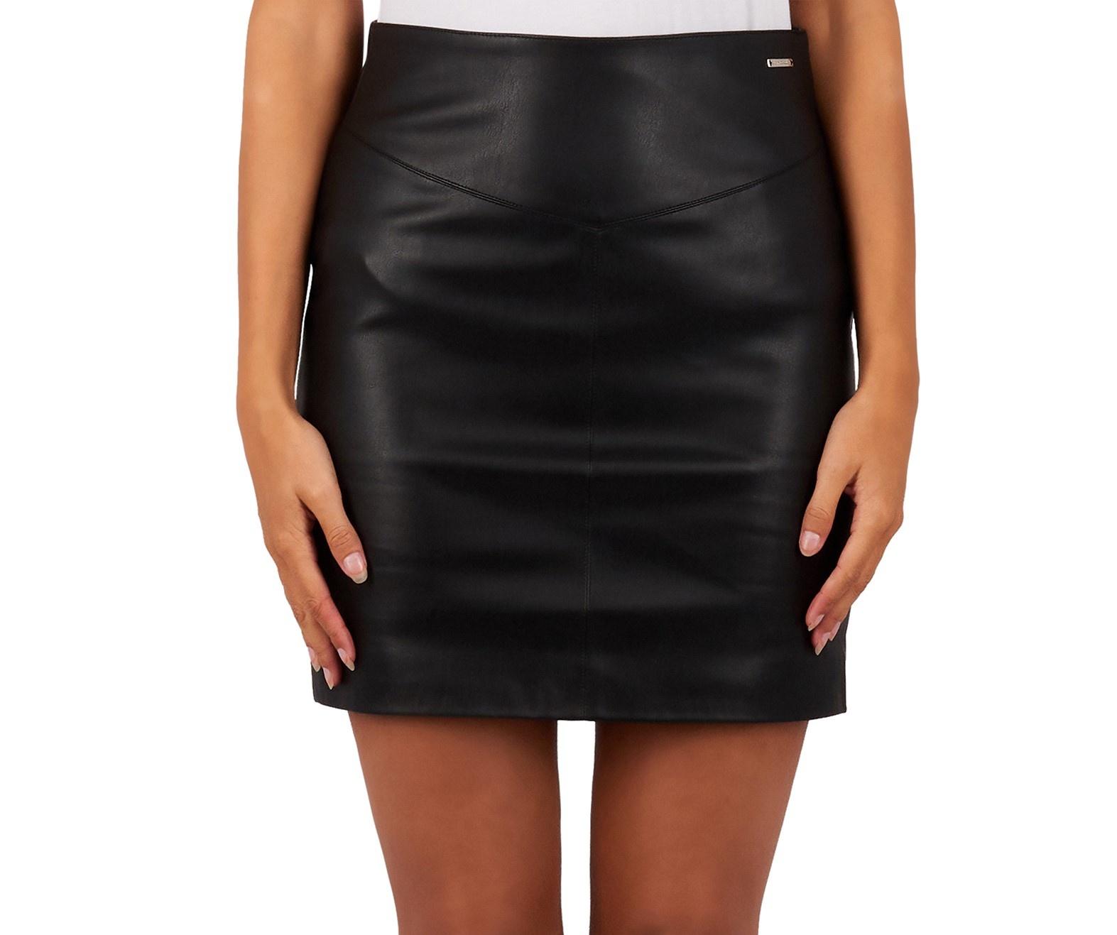 Lea skirt glamorous 5573 black