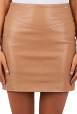 Lea skirt glamorous 5573 beige