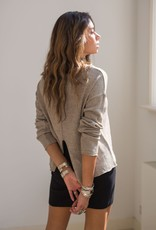 Moost Wanted Bayu Knitted Top tender taupe
