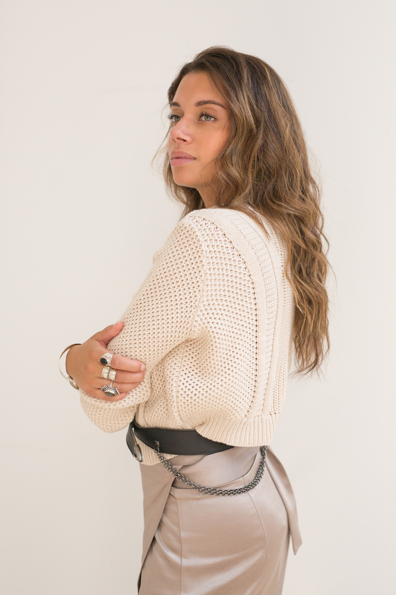 Moost Wanted Aster Knitted Sweater creme
