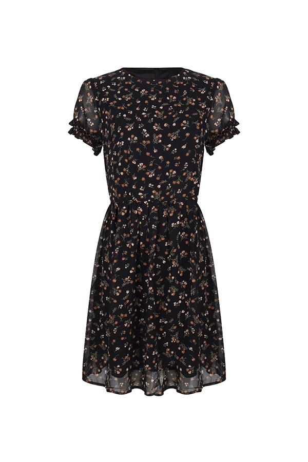 Dress Iliana black MD22
