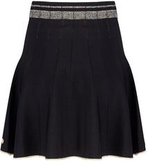 JLFW19152 Skirt lurex detail black