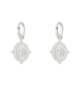 Sieraden by Ladybugs Neo Cross earrings  MEERDERE KLEUREN