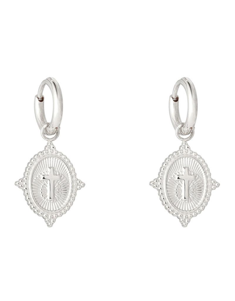 Neo Cross earrings  MEERDERE KLEUREN