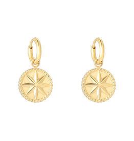 Ladybugs Mystic star earrings MEERDERE KLEUREN
