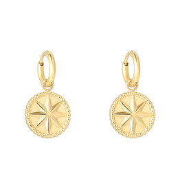 Sieraden by Ladybugs Mystic star earrings MEERDERE KLEUREN
