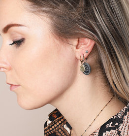 Live life earrings MEERDERE KLEUREN