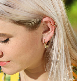 Famous leopard earrings  MEERDERE KLEUREN