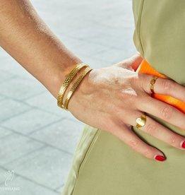 Ladybugs Armband Leo Footprint Medium
