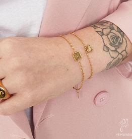 Ladybugs Armband be kind