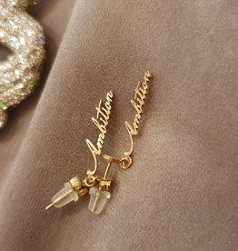 Ladybugs Ambition earrings