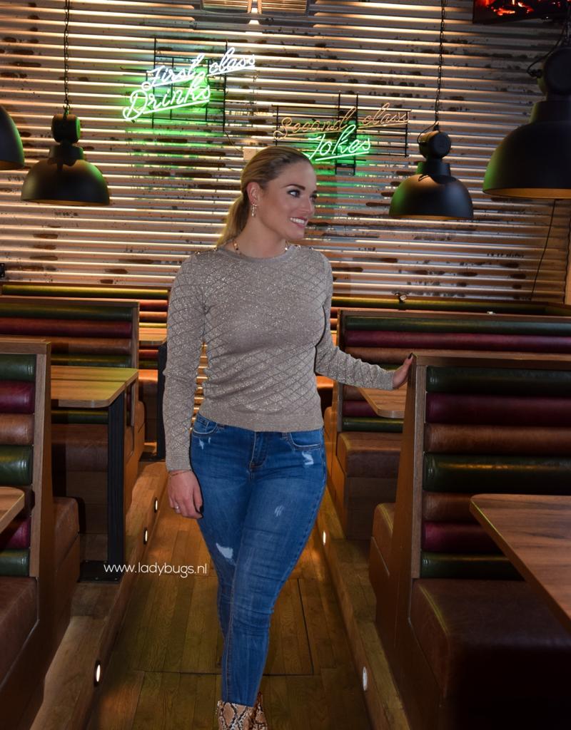 Enkel jeans