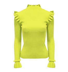 6444 NEON GEEL one size