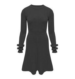 Ladybugs M5390 Ruffel sleeve dress black