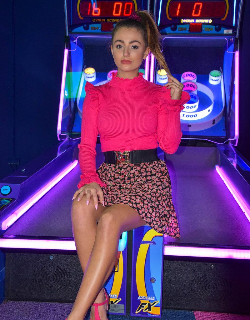 Ladybugs A1856 - A483 Rose skirt