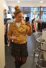 Ladybugs Hajar Suedine jacket CAMEL