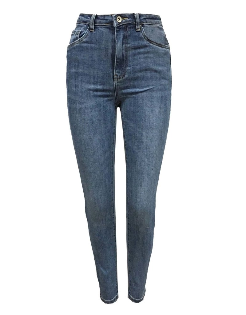 Ladybugs High waist basic jeans Toxik L1325