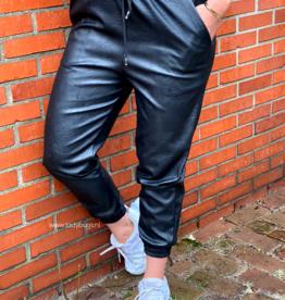 Ladybugs Leather Joggers black ONE SIZE