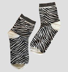 Pinned by K socks zebra wit  0 - 4574