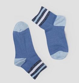 Pinned by K Socks blue stripe 0 - 1338