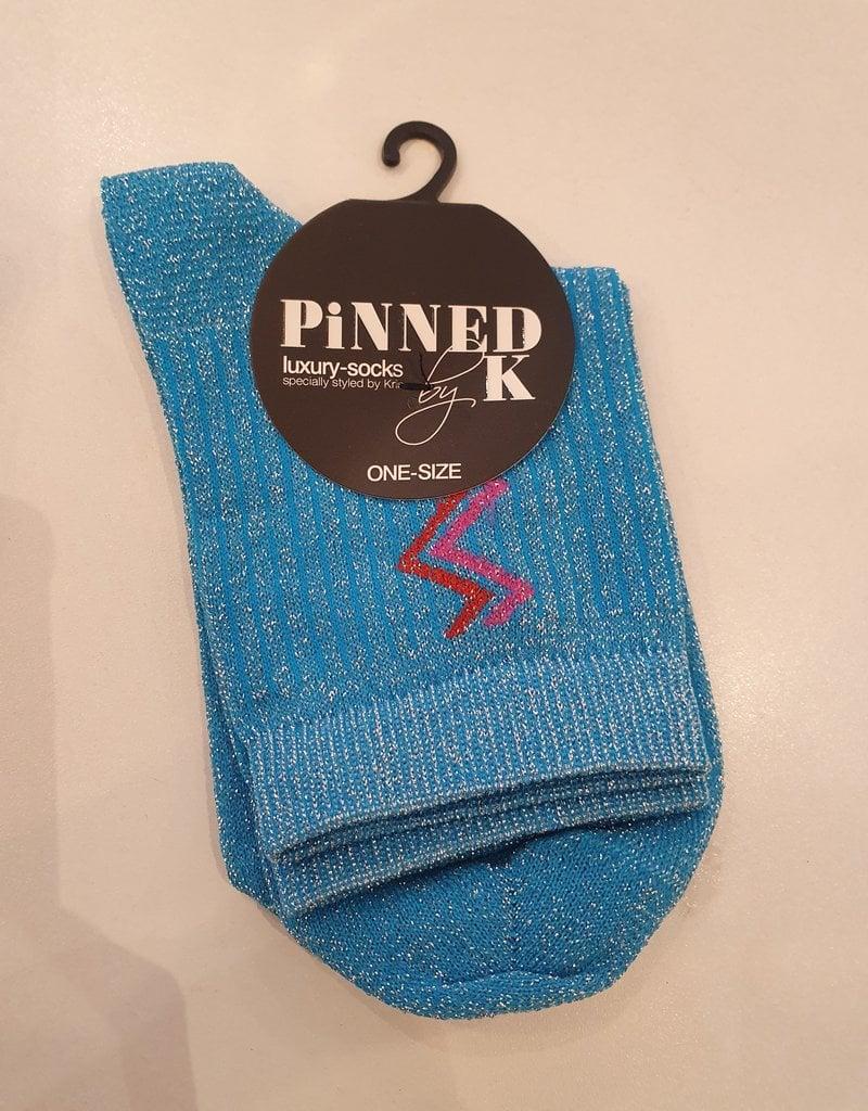 Pinned by K Sock stripe jasmine bleu 0 - 1805