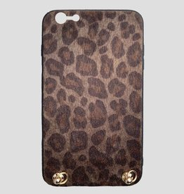 Pinned by K Iphone case BROWN LEOPARD Keep your hands free