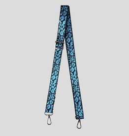 Pinned by K Bag & phone Strap leopard neon blauw 0-4624