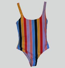 Pinned by K Swimsuit batik basic – multi color