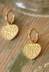 Ladybugs Oorbellen My Gold Heart