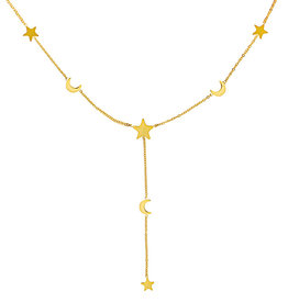 Ladybugs Ketting Moon and Stars