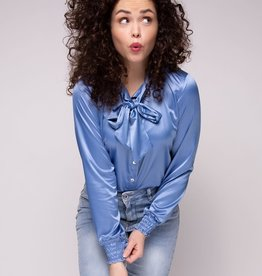 Cluca Meduno blouse JEANS BLUE