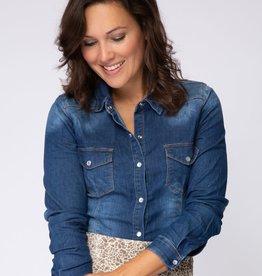 Cluca Azzano blouse DENIM