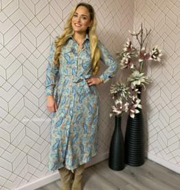 Cluca Faedo dress paisley BLUE