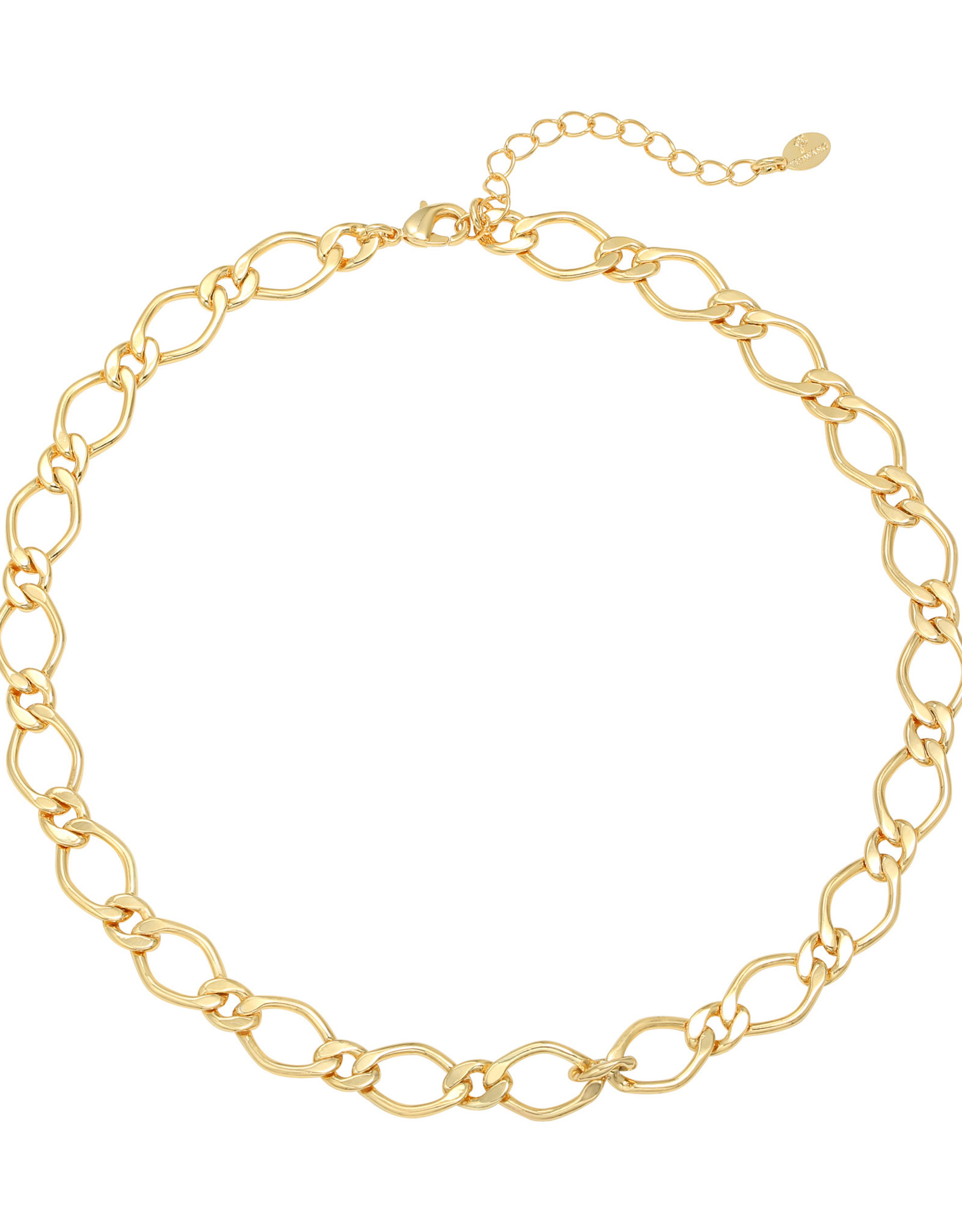 Ladybugs ketting chunky chain GOLD PLATED