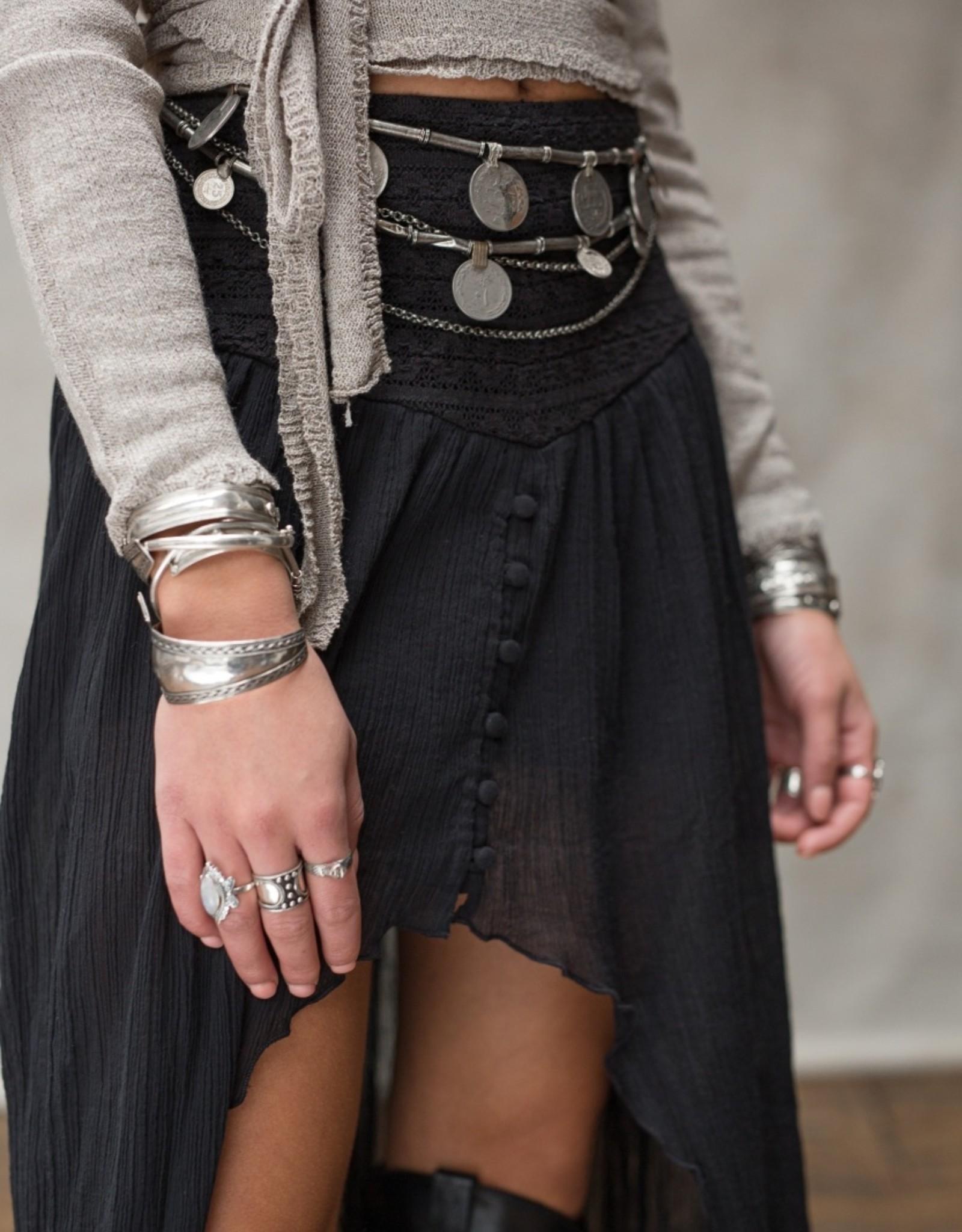 Moost Wanted Soof skirt black