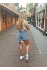Ladybugs Distressed denim skirt ITA6812 BLUE