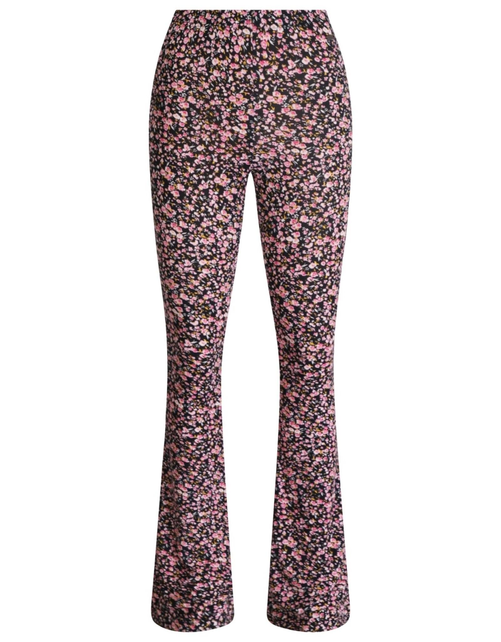 Ladybugs Elin soft flared pants ambika PINK FLOWERS
