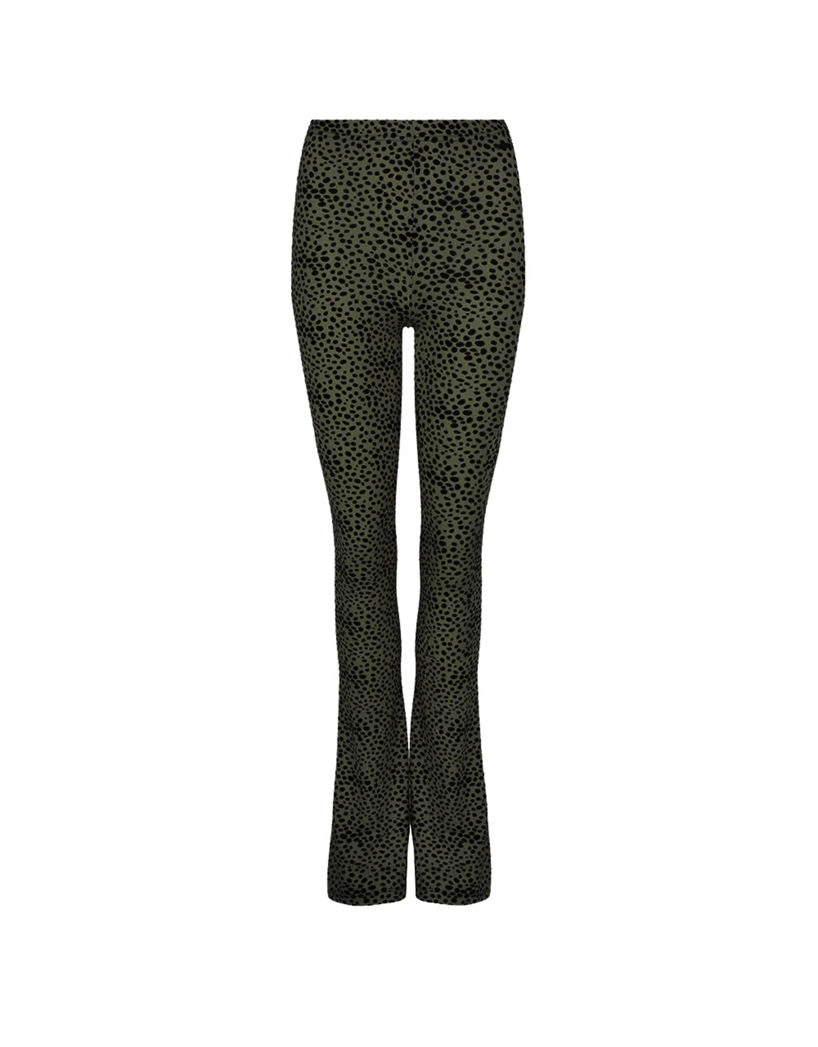Ladybugs Elin soft flared pants ambika DOTS ARMY GREEN