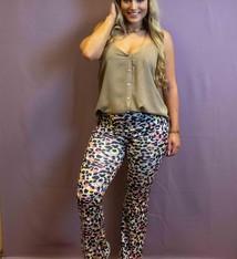 Ladybugs Flared pants met print afgeprijsd sale tot 90% BY20229