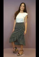 Ladybugs Midi skirt dots BLACK/WHITE