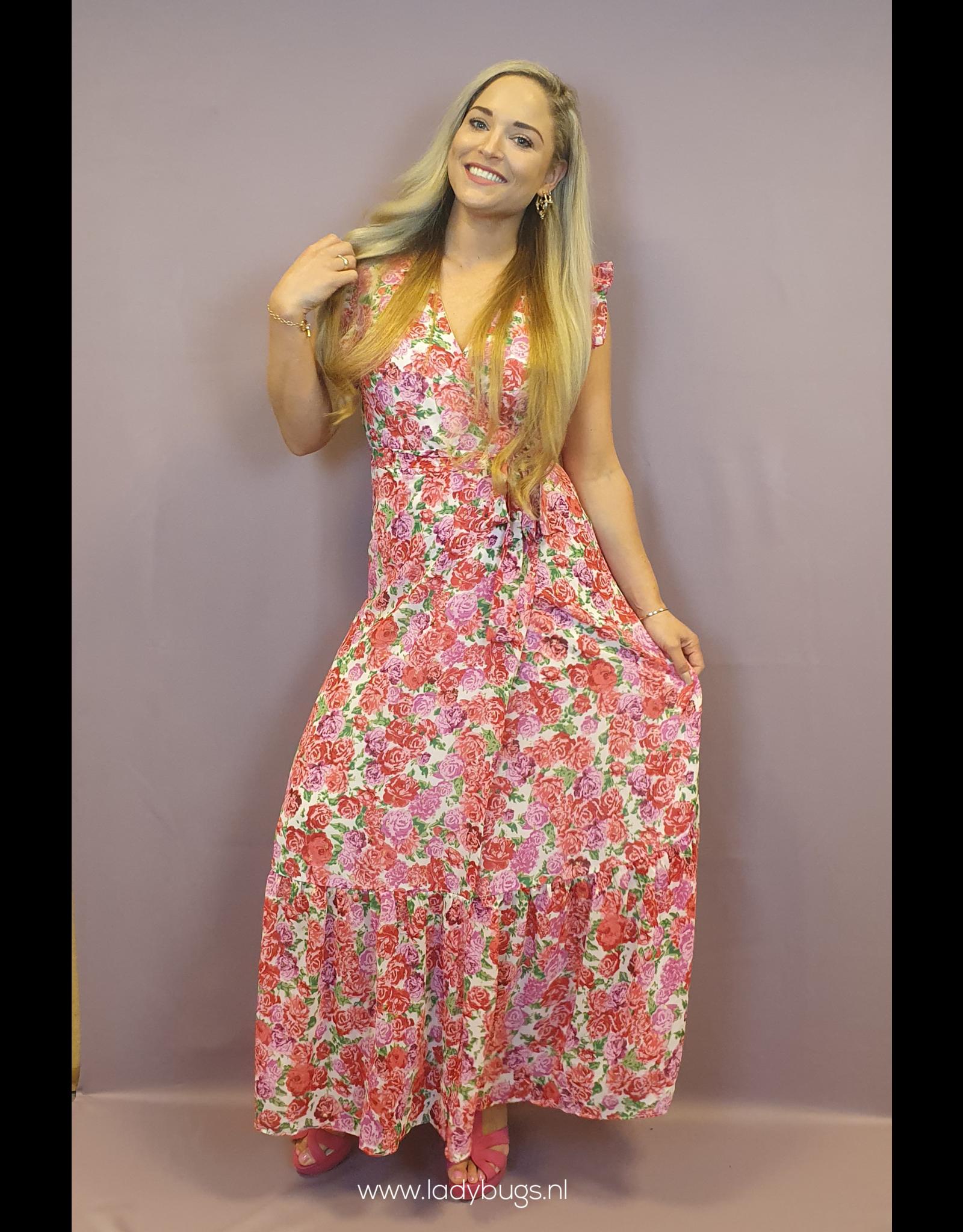 Ladybugs Roses pistol dress