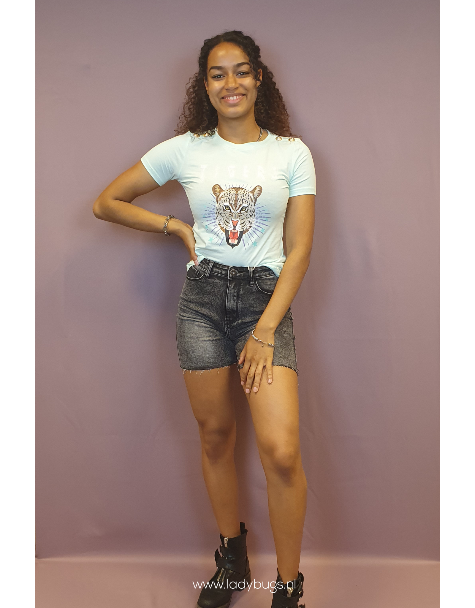 Ladybugs Tiffany Tiger shirt 23397  MINT