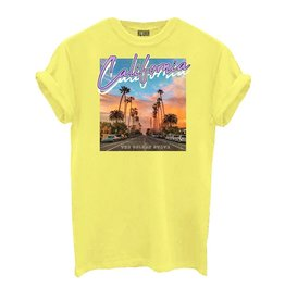 Azuka California shirt GEEL