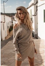 Moost Wanted Dayla knitted sweater Tender taupe