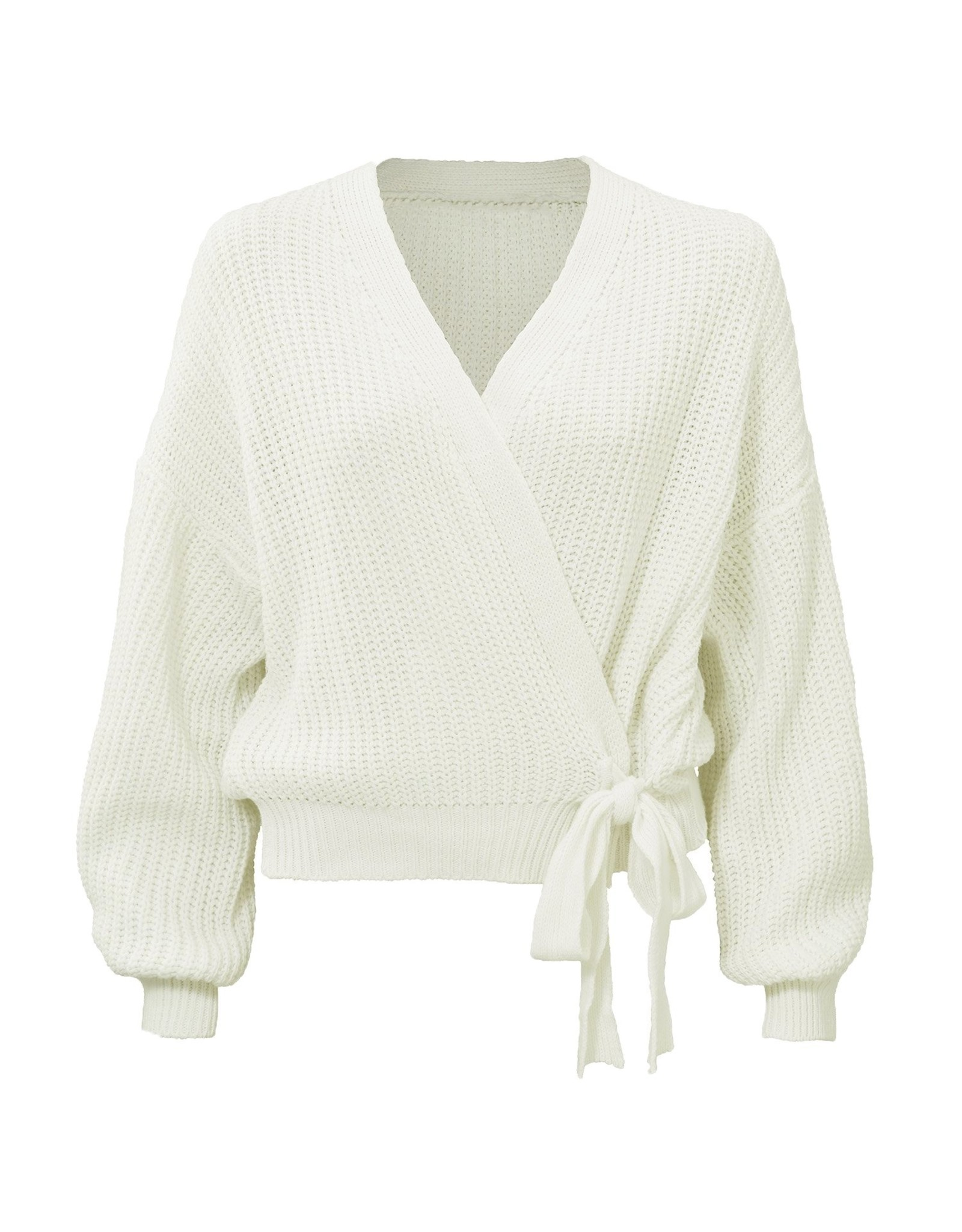 Ladybugs HT522 Wrap knit OFF WHITE