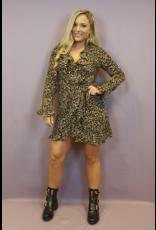 Ladybugs R7860 Leopard fall dress