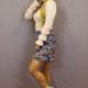 Ladybugs M190 Skirt BLUE