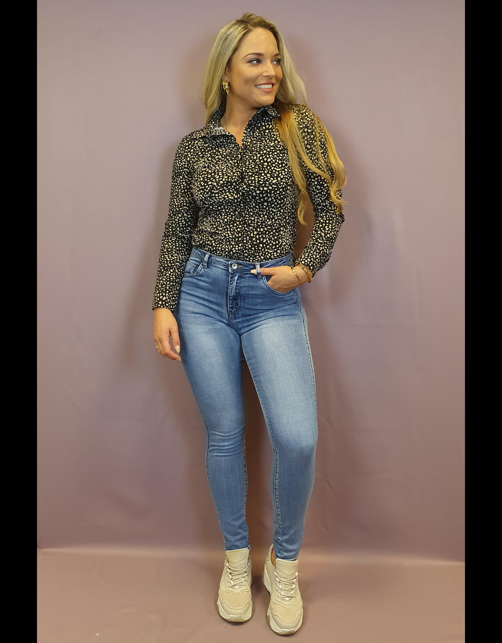 Ladybugs High waist jeans BLUE L 185 - J 25